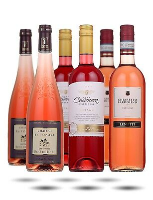Stylish Rose Selection Mixed Half Case - 6 Bottles of Sophisticated Pink Wine