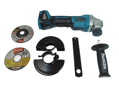 "NEW Makita XAG06Z 18V LXT Li-Ion Brushless 4-1/2"" Paddle Switch Grinder (Bare)"