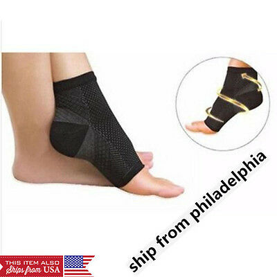 Foot Angel Ankle Sleeve Anti Fatigue Compression Swelling Relief Socks S M L XL