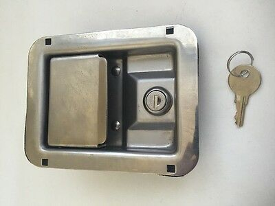 Toolbox Paddle Latch Part CH508 And One Factory-Cut Key