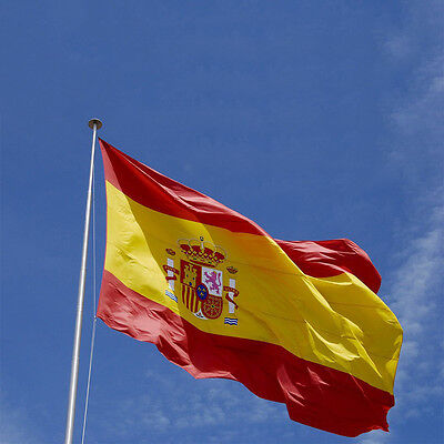 3'x5' Large Spanish Flag Polyester the Spain National Banner #HQ