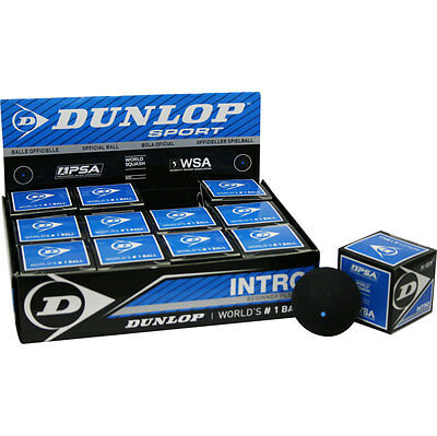 Dunlop  Premium Squash Ball Blue Speed