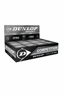 Dunlop Competition  Premium Squash Ball Yellow Dot Speed