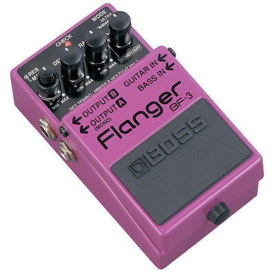 Boss BF3 BF-3 Flanger Guitar Effects Pedal! Brand New!