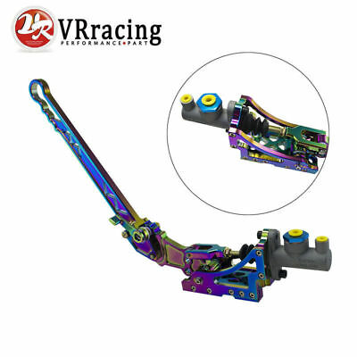 Hydraulic Horizontal Rally Drifting E-Brake Universal Lever Handbrake Neo Chrome