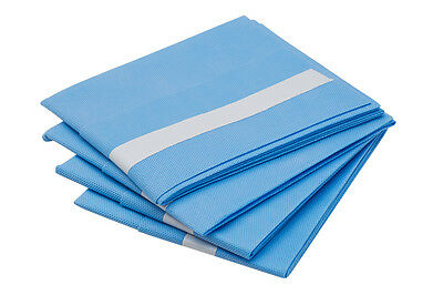 25 X Disposable Surgical Veterinary Drapes SMS 60G Pack of 4