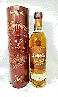 Glenfiddich 15 Year Old Solera Vat Scotch Whisky 700mL