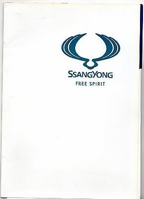 Ssangyong Rodius 2005 UK Market Launch Press Kit