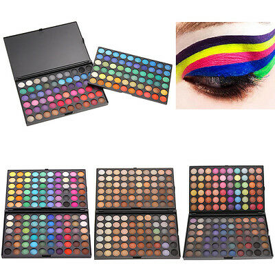 120 Colors Eye Shadow Makeup Cosmetic Shimmer Matte Eyeshadow Palette Set Kit