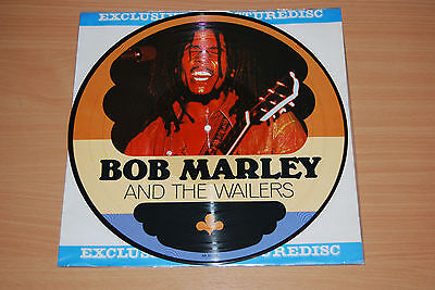 Bob Marley And The Wailers Lp - Rare 1983 Picture Disc Ar 30034