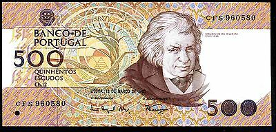 Portugal. 500 Escudos, CFS 960580, 18-3-1993, Very Fine-Extremely Fine.