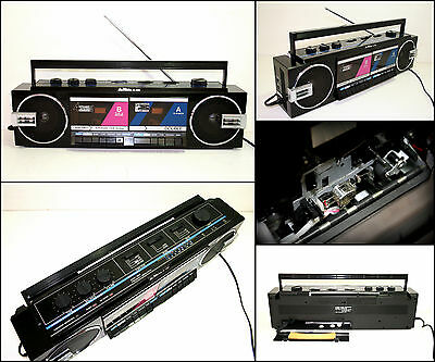 NIKKO RC-2868 3 Band Radio Double Cassette Boombox