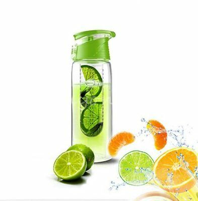 New Fruit Infusing Infusion Infuser Water Bottle Sports Health 800Ml With Spout