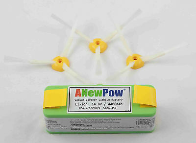 Roomba 500 600 700 and 800 ANEWPOW Lithium Ion Battery 4400mAh