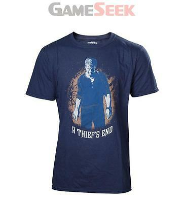 Uncharted 4 A Thief's End Men's Boxcover T-Shirt, Large, Multi-Colour