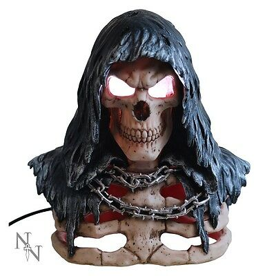 reaper lamp 30cm - Gothic Mythical Fantasy Gift Nemesis Now new