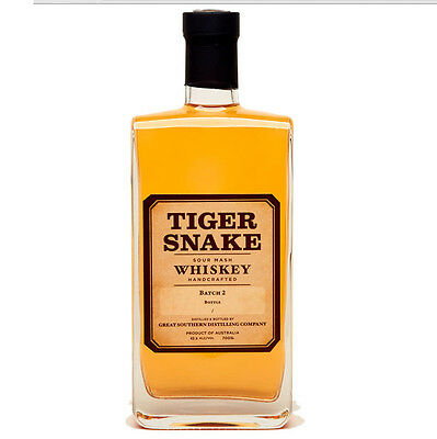 Limeburners Tiger Snake Australian Whisky 700mL