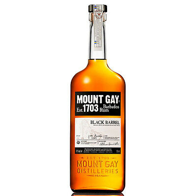 Mount Gay Barbados Black Barrel Rum 700mL
