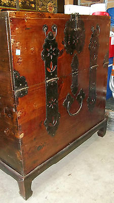 Korean Chest / Trunk - on stand - NSW 2283 - storage box
