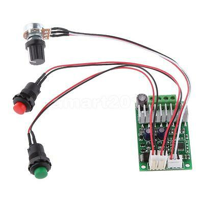 DC 6V~24V PWM Motor Speed Control Reversible Switch Function Regulator