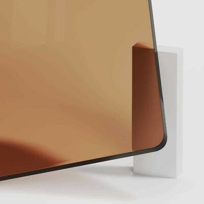 Bronze Tinted Perspex Acrylic Plastic Sheet Cut to Size Tint Cast Coloured