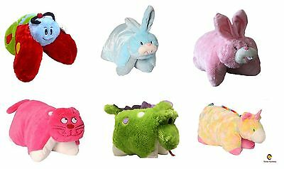 Childrens Generic Pet Pillow Cushion Toy Cat, Bunny, Dragon, Butterfly, Unicorn