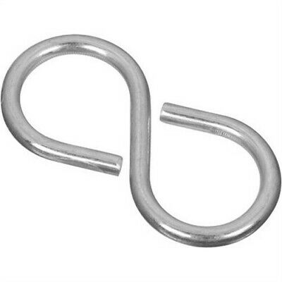 Light Closed S Hook by National Mfg Co, 3PK