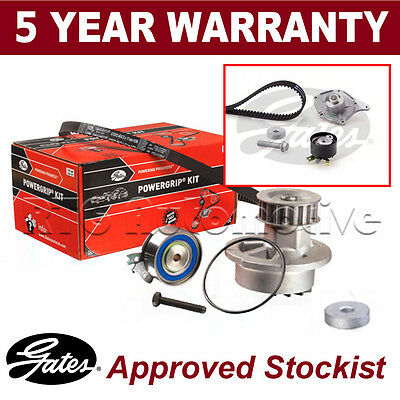 Gates Timing Cam Belt Water Pump Kit For Renault Clio 1.5 Diesel (2001-)