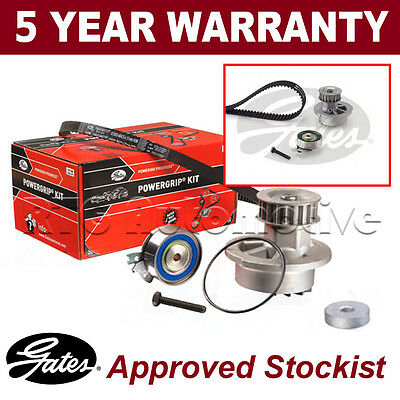 Gates Timing Cam Belt Water Pump Kit For Vauxhall Astra 1.4 1.6