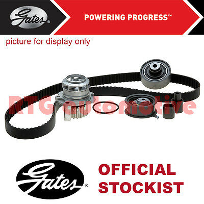 Gates Timing Cam Belt Water Pump Kit For Citroën C3 1.4 Petrol (2003-) Tensioner