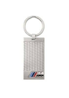 BMW Genuine M Collection Logo Stainless Steel Key Ring Fob Pendant 80272410928