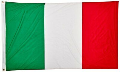 Italy Flag 3ft x 5ft Super Knit Brand