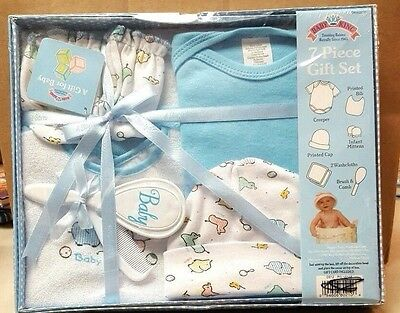 Baby Boy 7 pc Gift Set