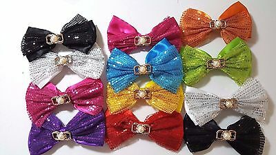 Wholesale 24 pcs  Big Hair Bows Boutique Girls hair Clip