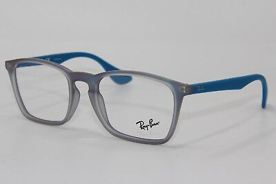 c3f7436d187 Brand New Ray-Ban Rb 7045 5484 Blue Eyeglasses Authentic Frame Rx Rb7045 53-