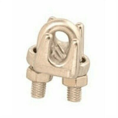Stainless Steel Wire Rope Clip,No T7633003,  Apex Products Llc, 3PK