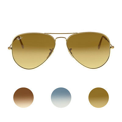 Ray Ban Aviator Gradient Mens Sunglasses