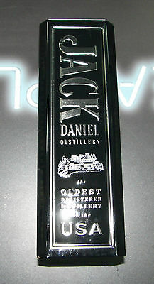 Empty JACK DANIELS Old No7 Whiskey Collector Hinged Metal Tin Can Box 2014 750ml