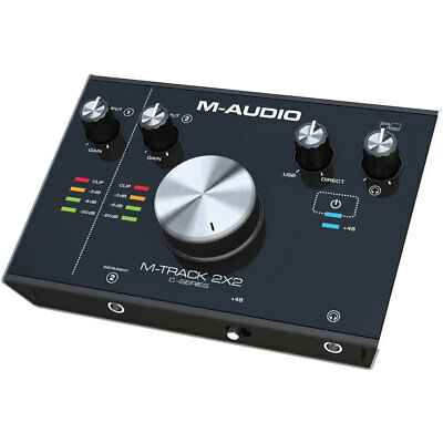 M-Audio M Track C Series 2x2 Audio Home Recording Interface
