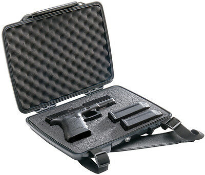 Pelican Products P1075 Pistol & Accessory Hardcase with Customizable Foam - NEW