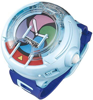 New In Box! BANDAI DX Yokai Watch! PROTOTYPE 2 medals included.