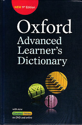 OXFORD ADVANCED LEARNER'S DICTIONARY +DVD & Online Access Hardback 9th Ed @NEW@