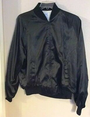 Alabama On Tour 1983 Satin Nylon Black Baseball Jacket
