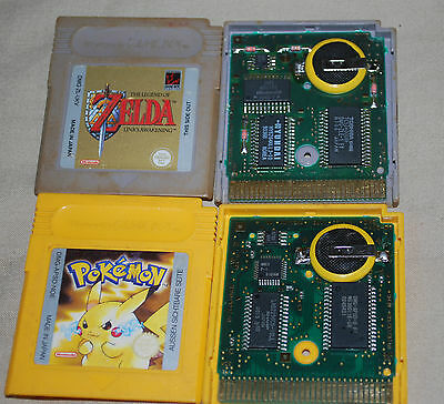 Gameboy color / pocket cartridge save battery replacement service