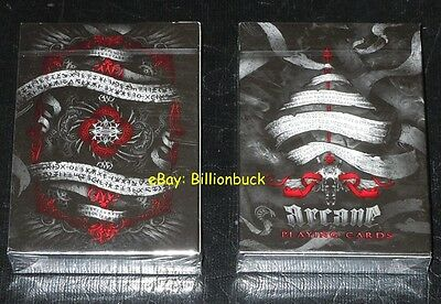Bicycle Ellusionist Arcane RED RARE Magic US Playing Cards Poker New Sealed