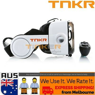 TNKR Bobo Z4 VR Virtual Reality Headset 3D Glasses headphone BT Remote cardboard