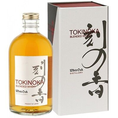 Tokinoka White Oak Japanese Blended Whisky 500ml Gift Boxed