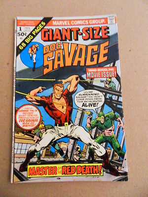 Giant Size Doc Savage 1. Marvel  1975 -   VG / FN