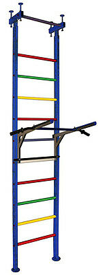 Vertical 7+TB - Adult's/teenager's Home Gym Swedish Wall Pull Up Bar