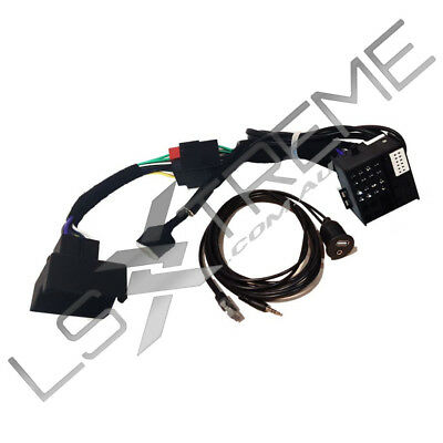 Ve Commodore Series 2 Radio To Series 1 IQ Patch Harness Aux Hsv Ssv Ss Vin USB
